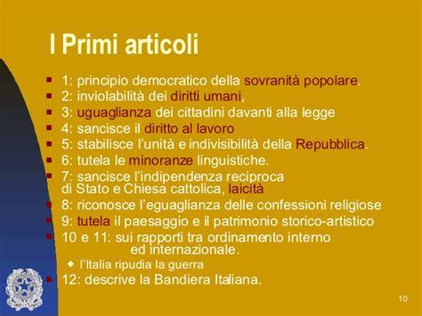 costituzione italiana testo costituzione italiana