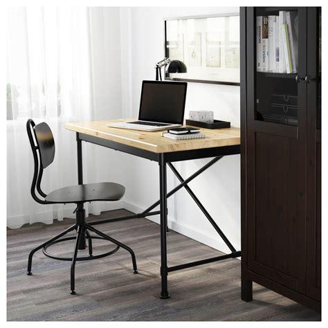 Black Computer Desk Ikea Kullaberg Desk Pine Black 110x70 Cm Ikea