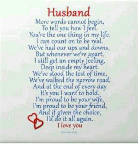 fathers day poems to my husband poem for my husband