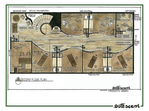 day spa floor plan 8 best spa layout images on pinterest