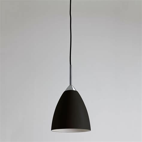 Astro Joel Black And Polished Chrome Pendant Light At Uk Pendant Light Supplies