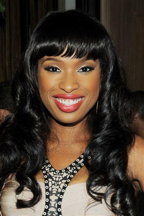 bangs hairstyles black black women hairstyles with bangs