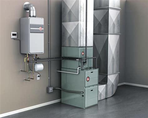 hvac design for new home rheem integrated hvac and water heating system powered by
