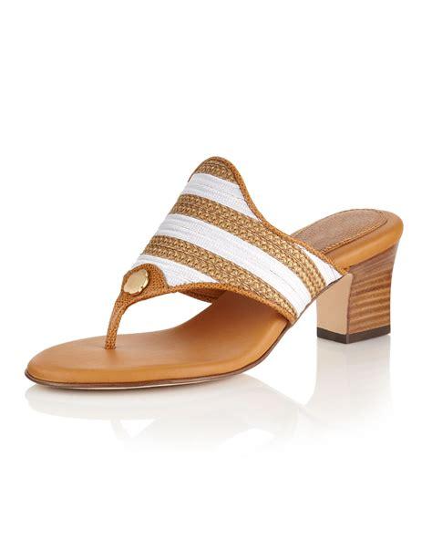 eric javits sandals eric javits bula braid sandal in brown wh