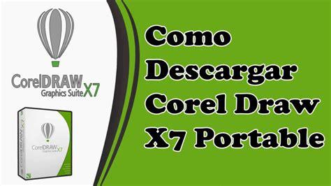 corel draw x7 yotube descargar corel draw x7 portable youtube