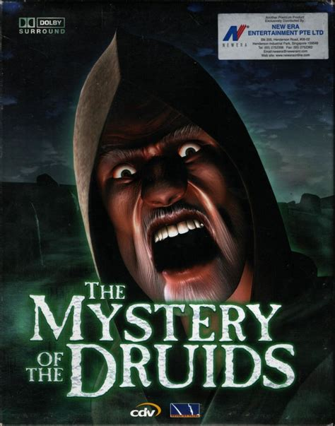 the mystery of the druids 2001 windows box cover art mobygames