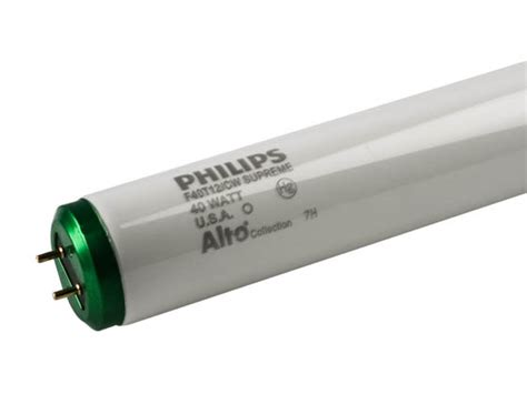 lumen output of t12 fluorescent ls philips 40w 48in t12 cool white fluorescent f40t12