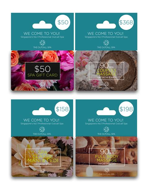 Gift Cards For Couples - 368 couple massage gift card the outcall spa