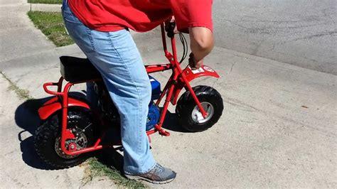 fast custom baja mini bike hp  sale youtube