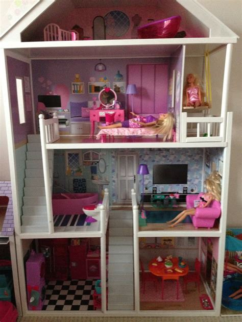 homemade barbie doll houses homemade barbie furniture barbie dollhouse plans how to make diy barbie house laura