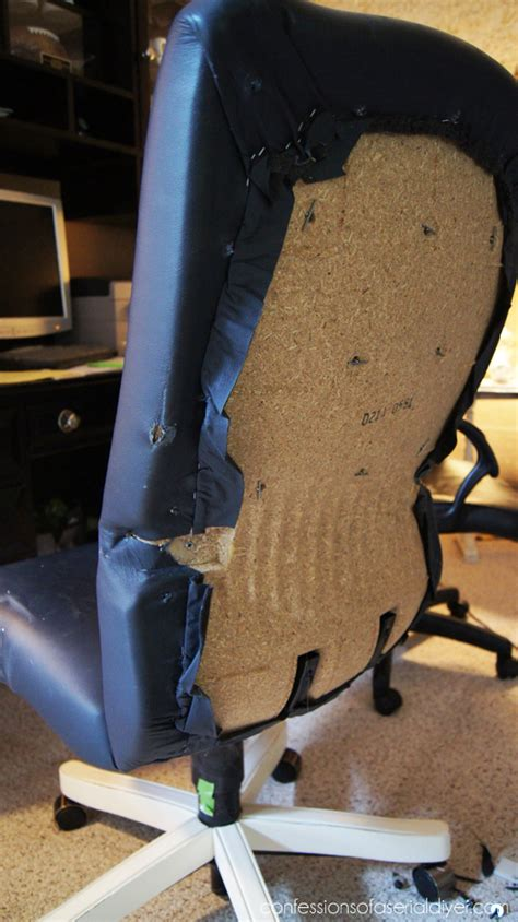 diy desk chair ideas desk chair makeover confessions of a serial do it yourselfer
