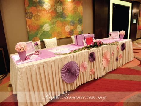 Wedding Backdrop Kl by Purple Event Malaysia Purple Rainbow Wedding