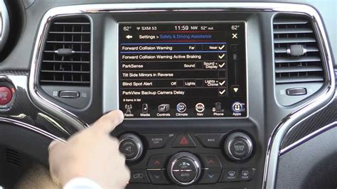 2014 jeep grand srt infotainment review 2014