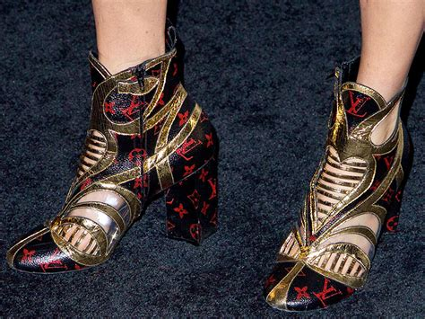 Shoe Crimes Connelly On The Carpet by The Louis Vuitton 2015 Boots On The Carpet
