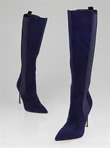 navy blue suede boots images