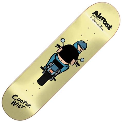 skateboard decks uk almost skateboards x jean jullien cooper wilt skateboard
