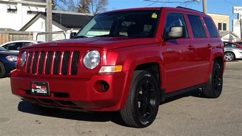 red jeep patriot black rims 2010 jeep patriot north winnipeg mb 4x4 black wheels
