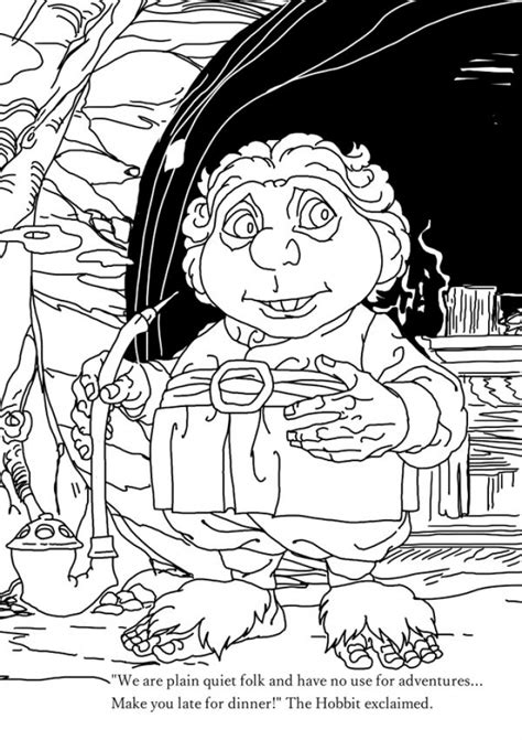 hobbit coloring pages hobbit coloring pages coloring page