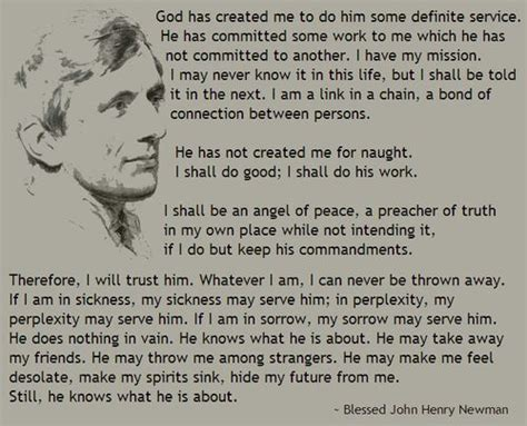 blessed john henry newman quotes quotesgram