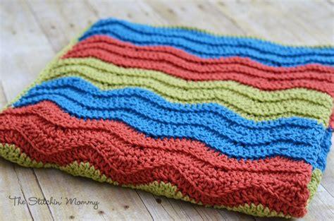 amazon ripple easy crochet ripple blanket the stitchin mommy