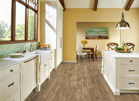 armstrong luxe farmhouse plank natural 8mm x 7 x 48 quot with rigid core our floors pinterest