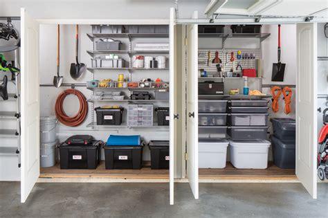 Garage Storage Elfa A Family Garage Gets An Elfa Makeover Container Stories