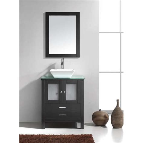 Bathroom Vanity Cabinet Sets by Brentford 28 Quot Single Bathroom Vanity Cabinet Set In Espresso