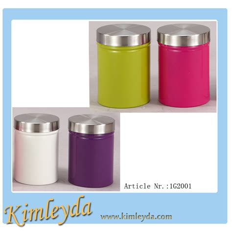 Tin Kitchen Canisters food grade tin canisters with rubber seals buy kitchen