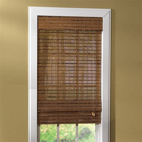 roman curtain shades lewis hyman havana bamboo roman shade curtain bath outlet