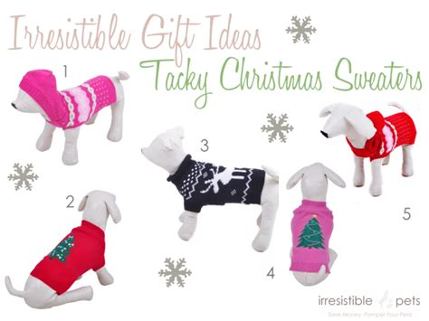 irresistible gift ideas tacky christmas sweaters