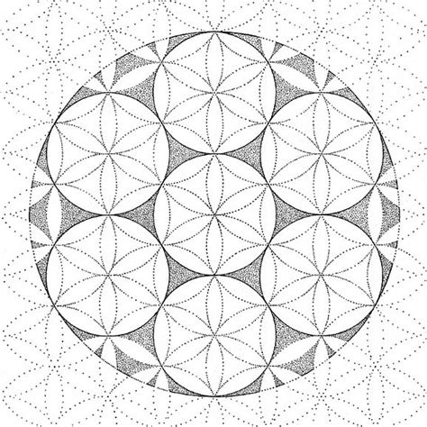 Real Geometric Coloring Pages | transcendental holy geometry gilchrist sacred geometry