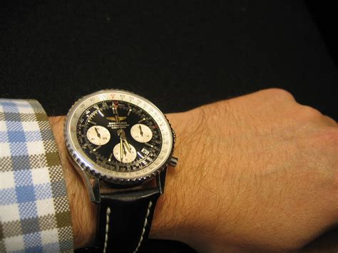 breitling bentley on wrist breitling on small wrist