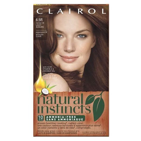 Freeo Sirsak Permented Herbal clairol instincts 20rb bright auburn brown 1 kit