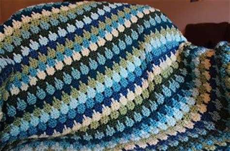 crochet bingo afghan