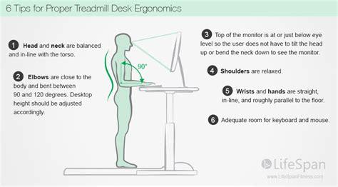 standing desks ergonomics standing desk posture treadmill desk ergonomics
