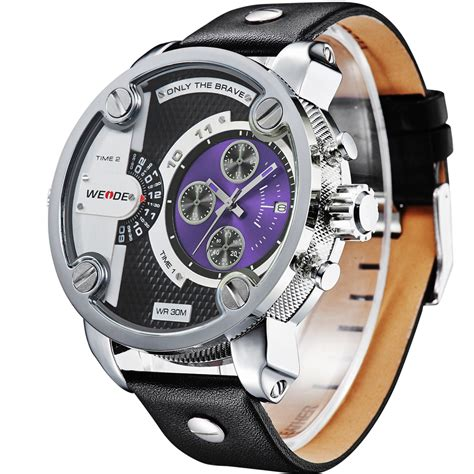 Weide Japan Quartz Miyota Sports 30m Wr Wh6 T0210 1 weide jam tangan japan quartz miyota wh3301 black blue jakartanotebook