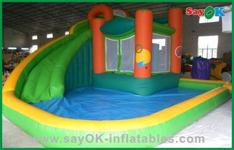 water bounce house commercial inflatable bounce house with water slide air blown inflatables