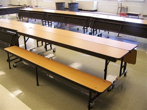lunch room tables cafeteria benches 28 images mbu12 12 l mobile bench cafeteria table by midwest folding aldo