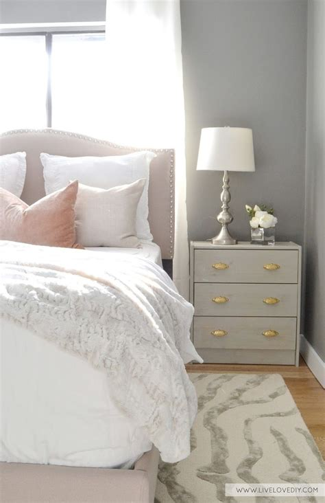 grey gold bedroom beautiful pink decor life on virginia street