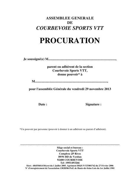 ASSEMBLEE GENERALE par Fred - VTT Procuration AG 2013 pdf