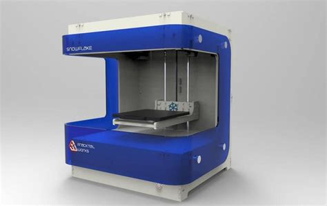 3d print fracktal works to release snowflake 3d printer chocolate printer biomedical other
