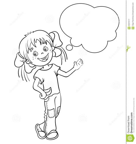 cartoon girl coloring pictures to pin on pinterest pinsdaddy