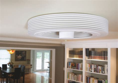 exhale ceiling fan with light exhale fan world s first bladeless ceiling fan the
