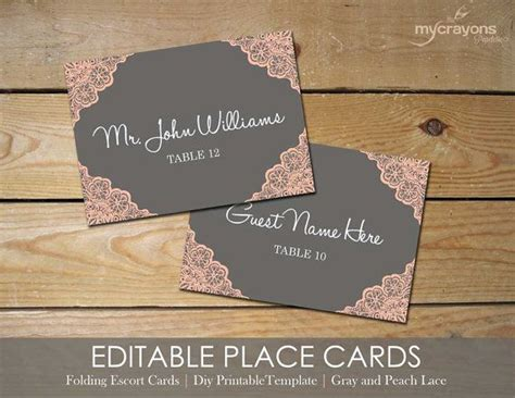 Buffet Place Cards Template by 1000 Images About Printable Wedding Downloads On