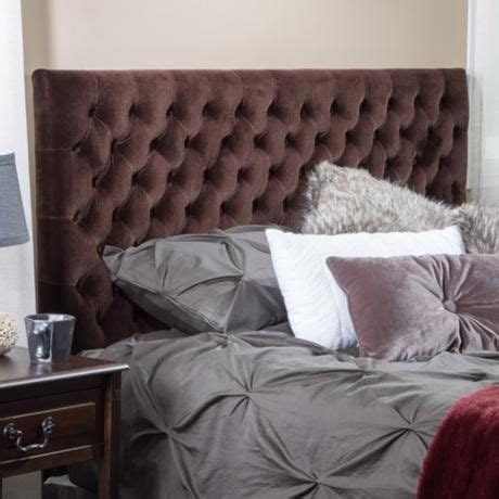 chocolate brown headboard emery chocolate brown tufted full queen upholstered