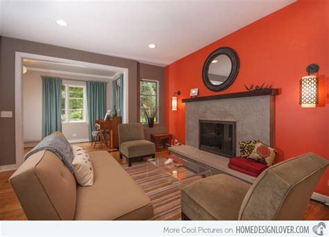 red accent wall living room 15 red themed living room designs fox home design