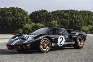 Ford Gt Replica Gt40 50th Anniversary By Shelby And Superformance Is One