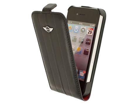 Hp Iphone 4 Mini mini cooper stripes flip hoesje voor iphone 4 4s