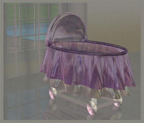 mod the sims baby crib