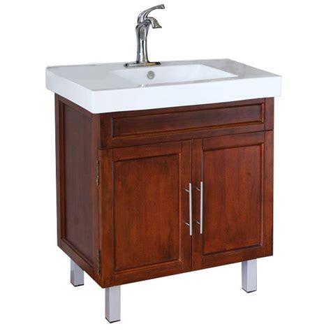 49x22 bathroom vanity top bellaterra home flemish w 32 in single vanity in walnut with porcelain vanity top in white